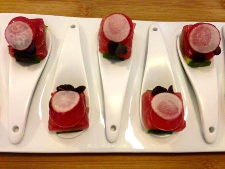 Tuna, Hibiscus, Soy