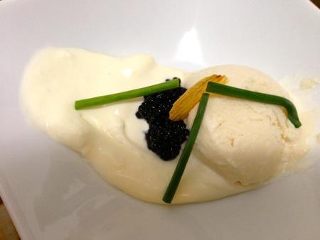 Potato, caviar