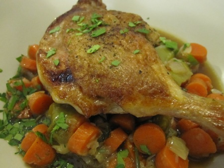 Duck Legs and Carrots