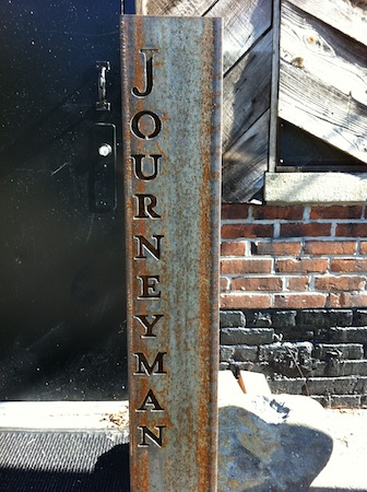 Journeyman Sign