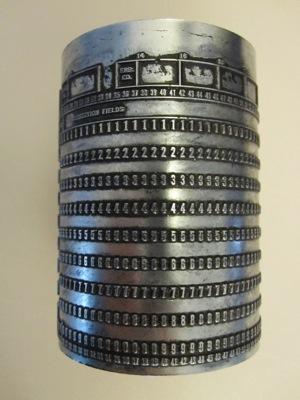 Keypunch Plate