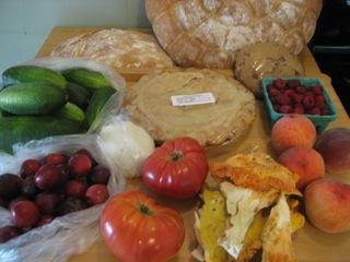 Farmer's market 08-01-09