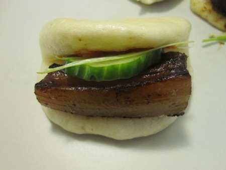 Steamed Bun with Miso Bacon
