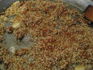 Rice and sofrito