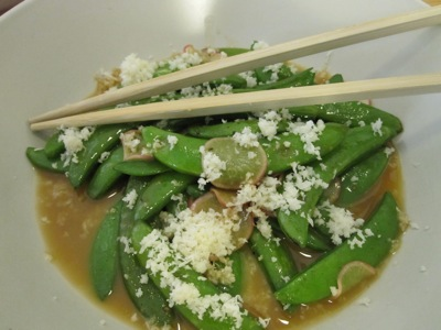 Peas with Horseradish