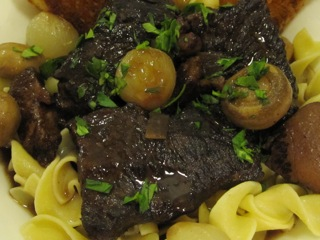 Boeuf Bourguignon, of course!