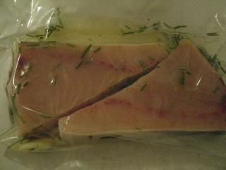 Marinating Swordfish